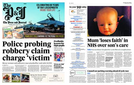 The Press and Journal Moray – April 27, 2019
