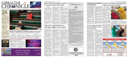 Gibraltar Chronicle – 31 December 2020