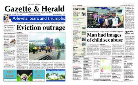 Gazette & Herald – August 24, 2017