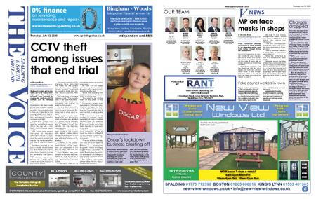 The Spalding & South Holland Voice – July 22, 2020