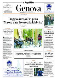 la Repubblica Genova – 18 maggio 2019