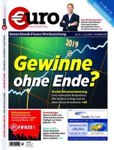 Euro am Sonntag – 26. Oktober 2019