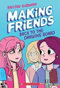 Making Friends 02-Back to the Drawing Board 2019 digital Hourman
