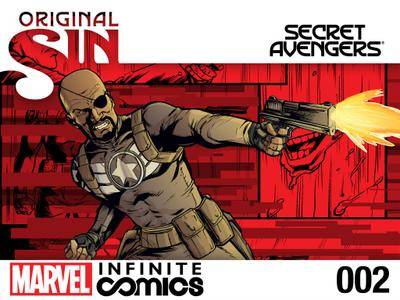 Original Sin - Secret Avengers Infinite Comic 002 2014  2 covers digital Son of Ultron-Empire