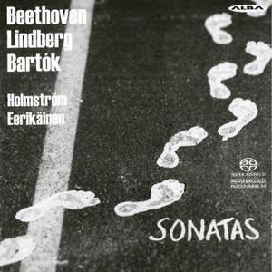 Pasi Eerikainen, Emil Holmstrom - Ludwig van Beethoven, Bela Bartok, Magnus Lindberg: Sonatas (2015)