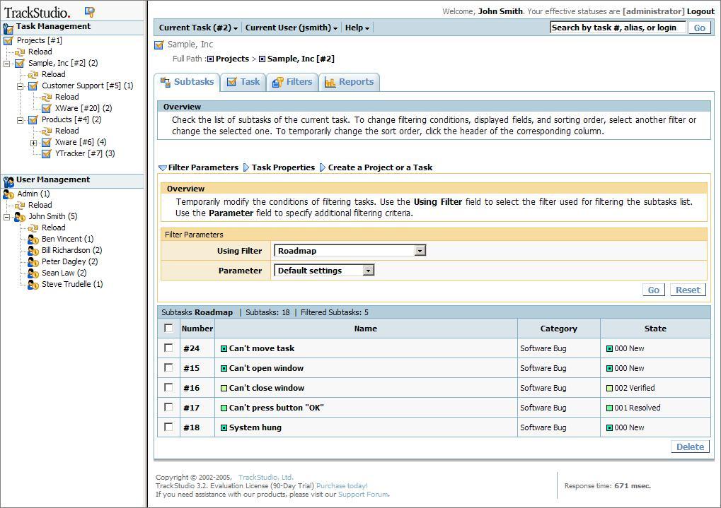 TrackStudio Enterprise 3.5.68 (Win/Linux)