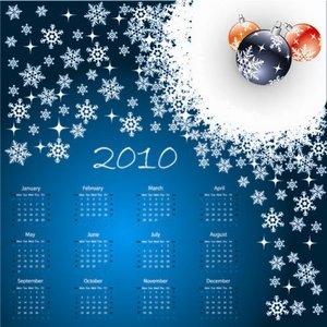 calendar 2010 1-7