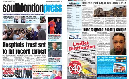 South London Press – April 09, 2019