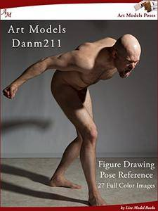 Art Models DanM211: Figure Drawing Pose Reference (Art Models Poses)