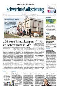 Schweriner Volkszeitung Hagenower Kreisblatt - 31. Juli 2018