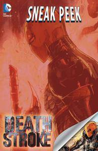 DC Sneak Peek - Deathstroke 2015 Digital