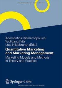 Quantitative Marketing and Marketing Management [Repost]