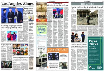 Los Angeles Times – February 08, 2020