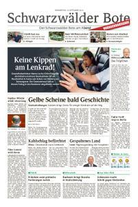 Schwarzwälder Bote Blumberg - 19. September 2019
