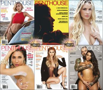 Penthouse USA - Full Year 2019 Issues Collection