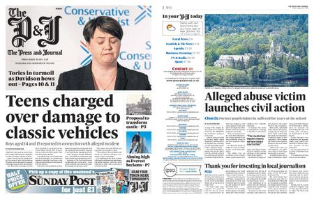 The Press and Journal Moray – August 30, 2019