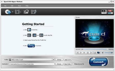 Tipard DVD Ripper Platinum 7.3.18 Multilingual