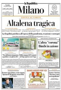 la Repubblica Milano - 27 Marzo 2020