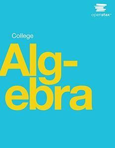 College Algebra (repost)