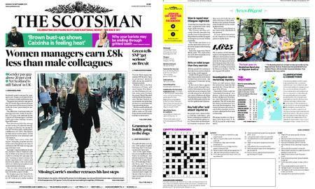 The Scotsman – September 25, 2017