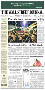 The Wall Street Journal – 17 June 2019