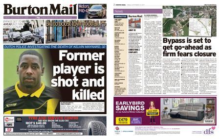 Burton Mail – September 20, 2019