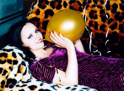 Christina Ricci by Ellen von Unwerth for Interview Magazine December 1999