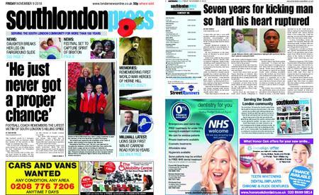 South London Press – November 09, 2018