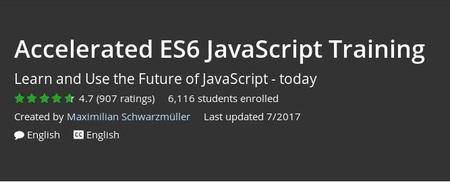 Udemy - Accelerated ES6 JavaScript Training