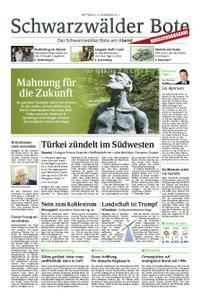 Schwarzwälder Bote Oberndorf - 13. Dezember 2017