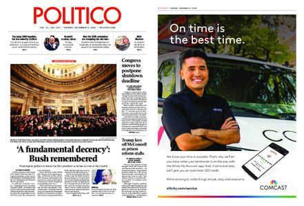 Politico – December 04, 2018