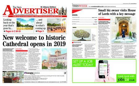 The Herts Advertiser – December 27, 2018