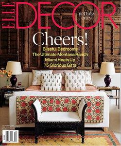 ELLE Decor Magazine December 2005