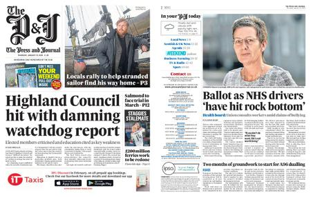 The Press and Journal Moray – January 23, 2020