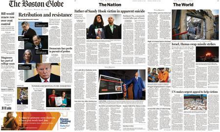 The Boston Globe – March 26, 2019