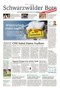 Schwarzwälder Bote St. Georgen, Triberg, Furtwangen - 11. Februar 2019