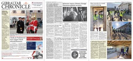 Gibraltar Chronicle – 18 March 2021