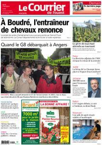Le Courrier de l'Ouest Angers – 07 mai 2019