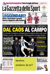 La Gazzetta dello Sport Sicilia – 29 dicembre 2018