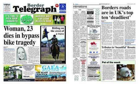 Border Telegraph – August 08, 2018