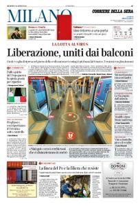 Corriere della Sera Milano – 26 aprile 2020