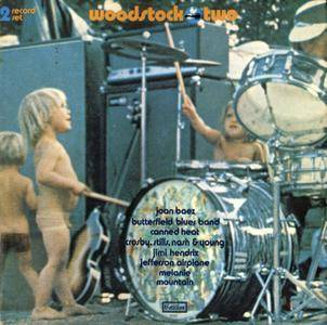 Various - Woodstock Two (1971) Cotillion/SD 2-400 - Original US Monarch Pressing - 2LP/FLAC In 24bit/96kHz