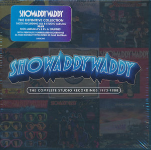 Showaddywaddy - The Complete Studio Recordings 1973-1988 (2013) [10CD Super Deluxe Box Set] Re-up