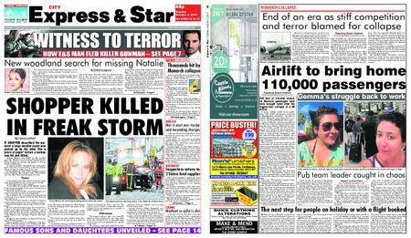 Express and Star City Edition – October 03, 2017
