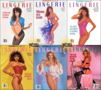 Playboy's Lingerie - Full Year 1989 Issues Collection