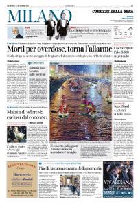 Corriere della Sera Milano – 15 dicembre 2019