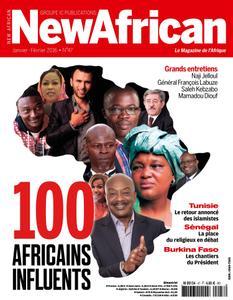 New African, le magazine de l'Afrique - Janvier - Février 2016