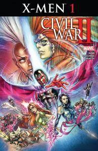 Civil War II - X-Men 001 (2016)