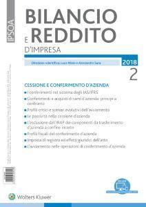 Bilancio e reddito d'impresa - Febbraio 2018