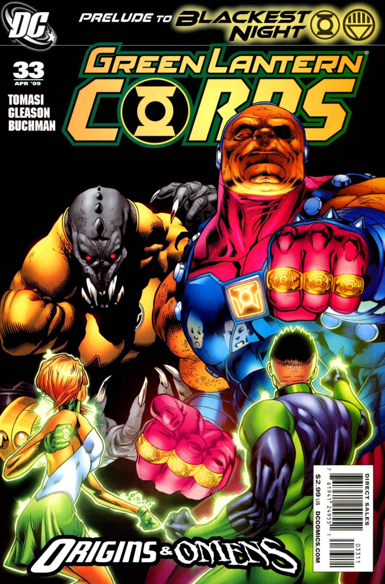 Green Lantern Corps 033 (2009)